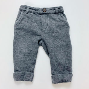 Baby Gap Knit Joggers Gray 6-12 months